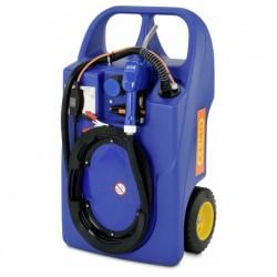 Trolley AdBlue din HD-PE 60 l cu pompa Centri SP 30