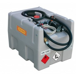 Rezervor mobil DT Mobil Easy 200 l electropompa autoamorsanta, 40 l/min, la 12 V, cu pistol automat