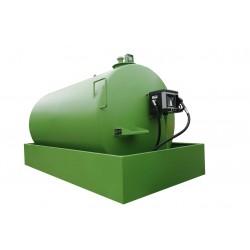 Rezervor suprateran de motorina cu perete simplu si cuva de retentie 6.600 l