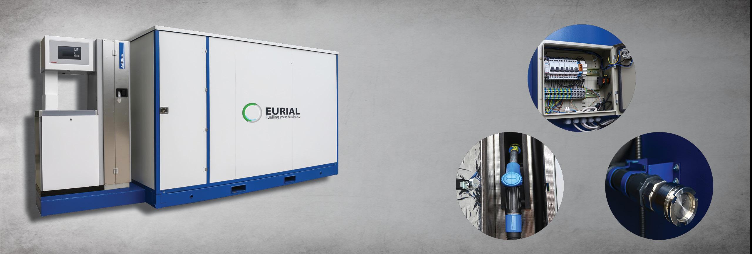 Container Suprateran pentru distribuire si stocare de Adblue